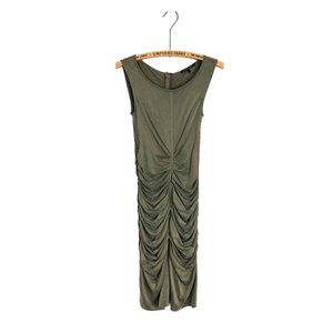 Luisa Cerano Ruched Bodycon Cocktail Dress